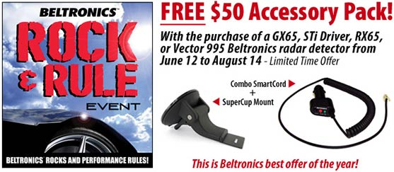 Beltronics  Radar Detector Promotion