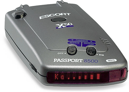 escort 8500 radar detector manual