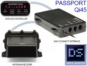 Escort Passport Qi45 Remote Radar Detector