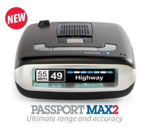 Escort Passport Max 2 (Built in Bluetooth)
